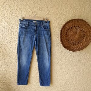 Mother the dropout straight leg jeans